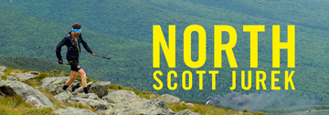 NORTH: Scott Jurek on the Appalachian Trail. Photo by Luis Escobar