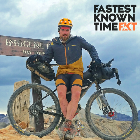 Justin Simoni - Long Ranger - FKT Podcast