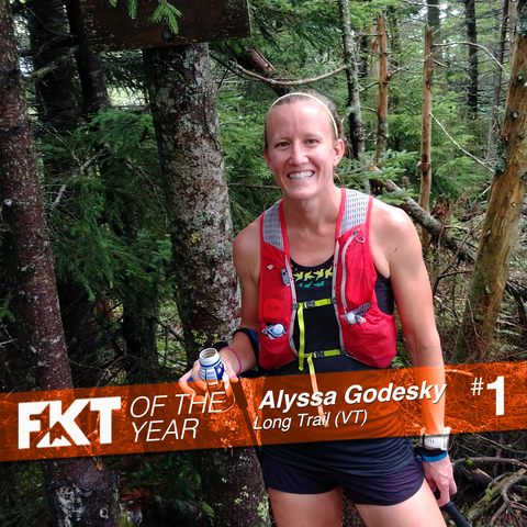 Alyssa Godesky - FKT of the Year, on the Long Trail