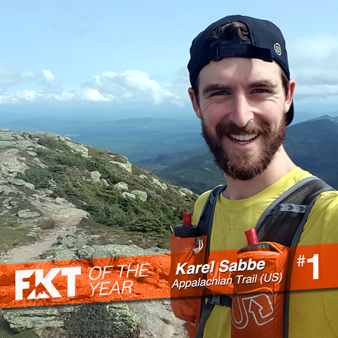 Karel Sabbe - FKT of the Year, on the Appalachian Trail