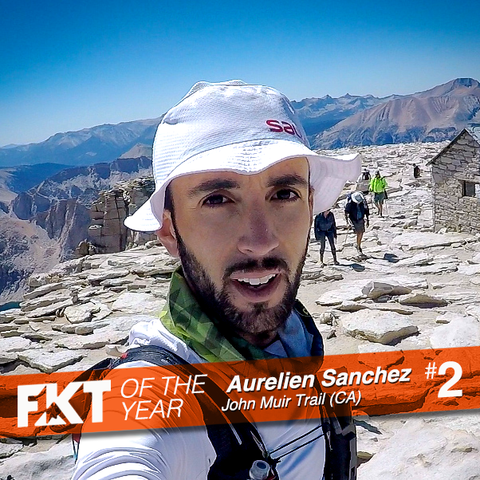 Aurelien Sanchez - FKT of the Year on John Muir Trail