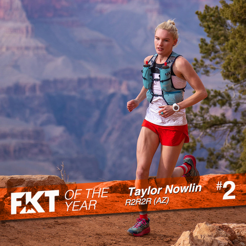 Taylor Nowlin - FKT of the Year on R2R2R