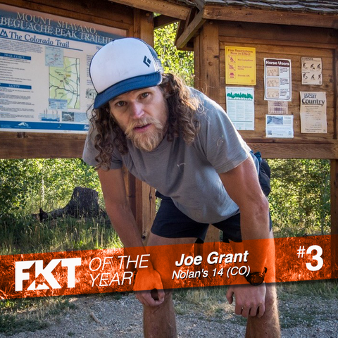 Joe Grant - FKT of the Year on Nolan's 14