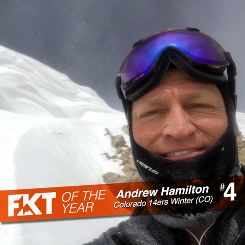 FKT of the Year - Andrew Hamilton on Colorado 14ers Winter
