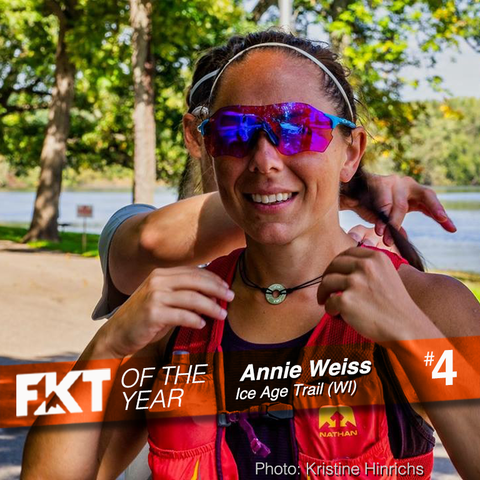 FKT of the Year - Annie Weiss on Ice Age Trail