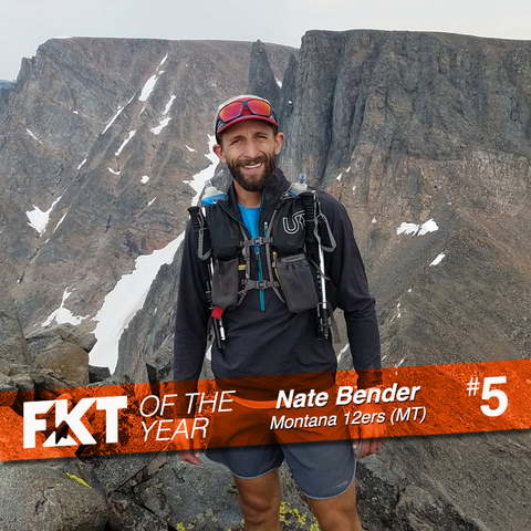 Nate Bender - FKT on Montana 12ers (MT)