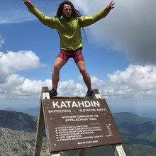 "Dan ""Knotts"" Binde on Katahdin"