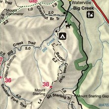 Mt Sterling map