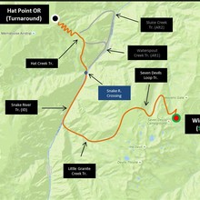 Hells Canyon map