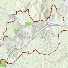 Flagstaff Loop Trail map
