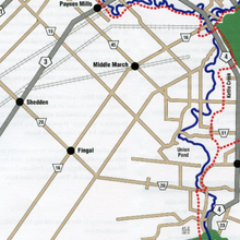 Elgin Trail map