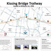 Kissing Bridge Trailway Map