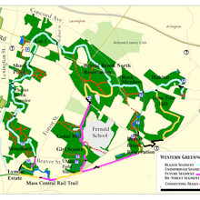 Western Greenway area map