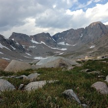 Beartooth Range scenery, photo by Nate Bender