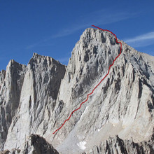 Mountaineer's Route on Mt Whitney