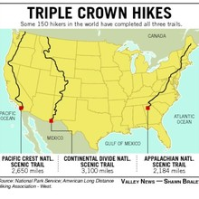 Triple Crown map