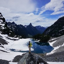Alpine Lakes Crest Traverse, photo by Kyle McCrohan