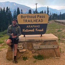 Justin Simoni - Milner Pass - Berthoud Pass on the Continental Divide (CO)