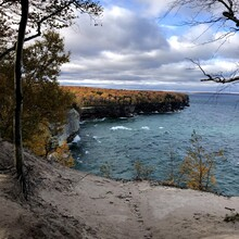 Carrie Henderson - Pictured Rocks Lakeshore Trail (MI)