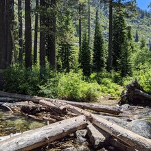 Ashly Winchester - Canyon Creek Lakes Trail, Trinity Alps Wilderness (CA)