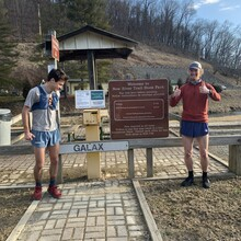 Brennan Henning, Ty Stephenson - New River Trail (VA)