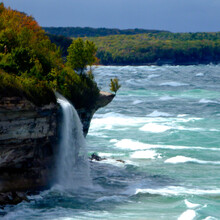 Roy Kranz, Eric Carlson - Pictured Rocks Lakeshore Trail (MI)