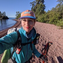 Katherine A Baird - Superior Hiking Trail (MN)