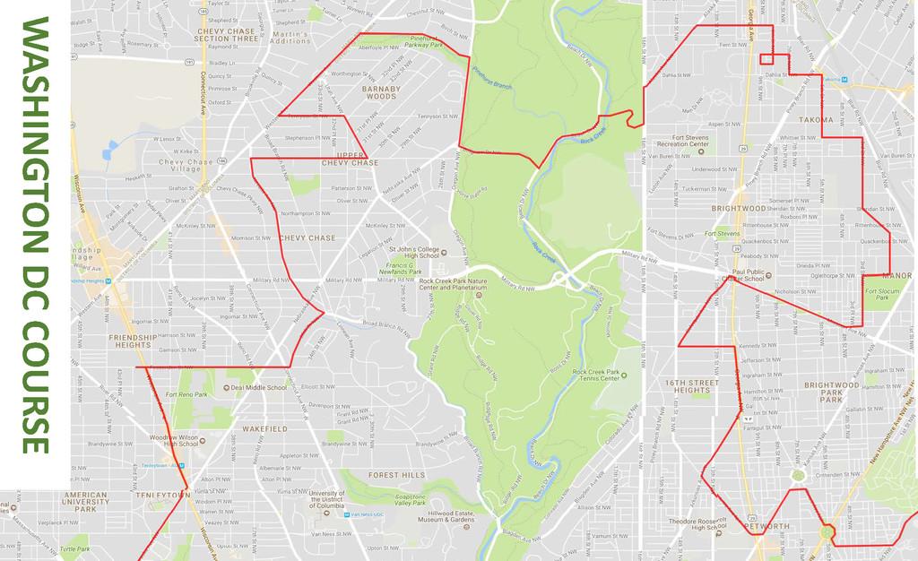 Washington DC 50 States Route (DC) | Fastest Known Time