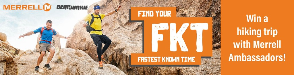 Find your FKT with Merrell and GearJunkie - Win a hiking trip with Merrell Ambassadors