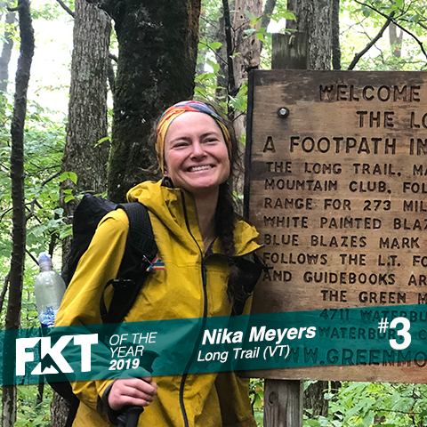 Nika Meyers - FKT of the Year 2019