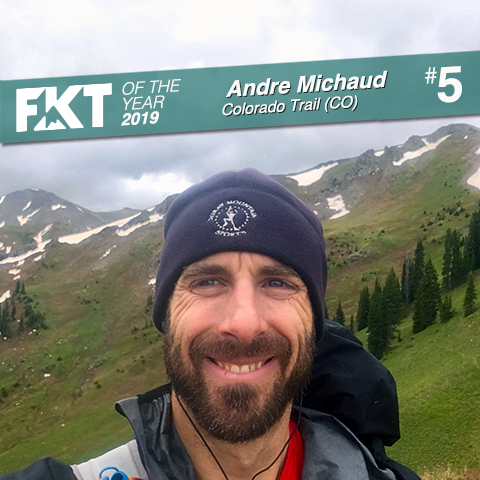 Andre Michaud - FKT of the Year 2019